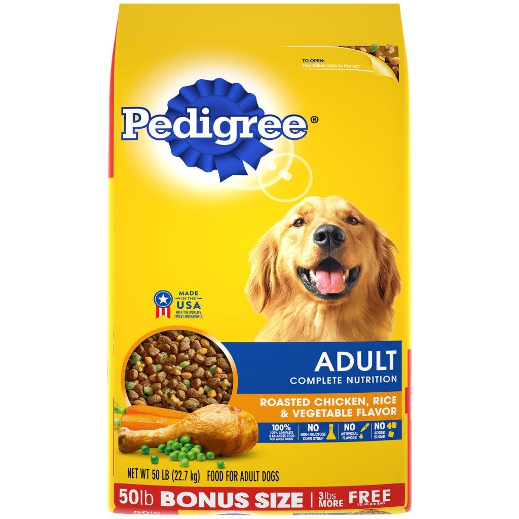 Makanan anjing terbaik pedigree